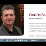 iCoin Pro About the Founder and CEO Paul De Sousa