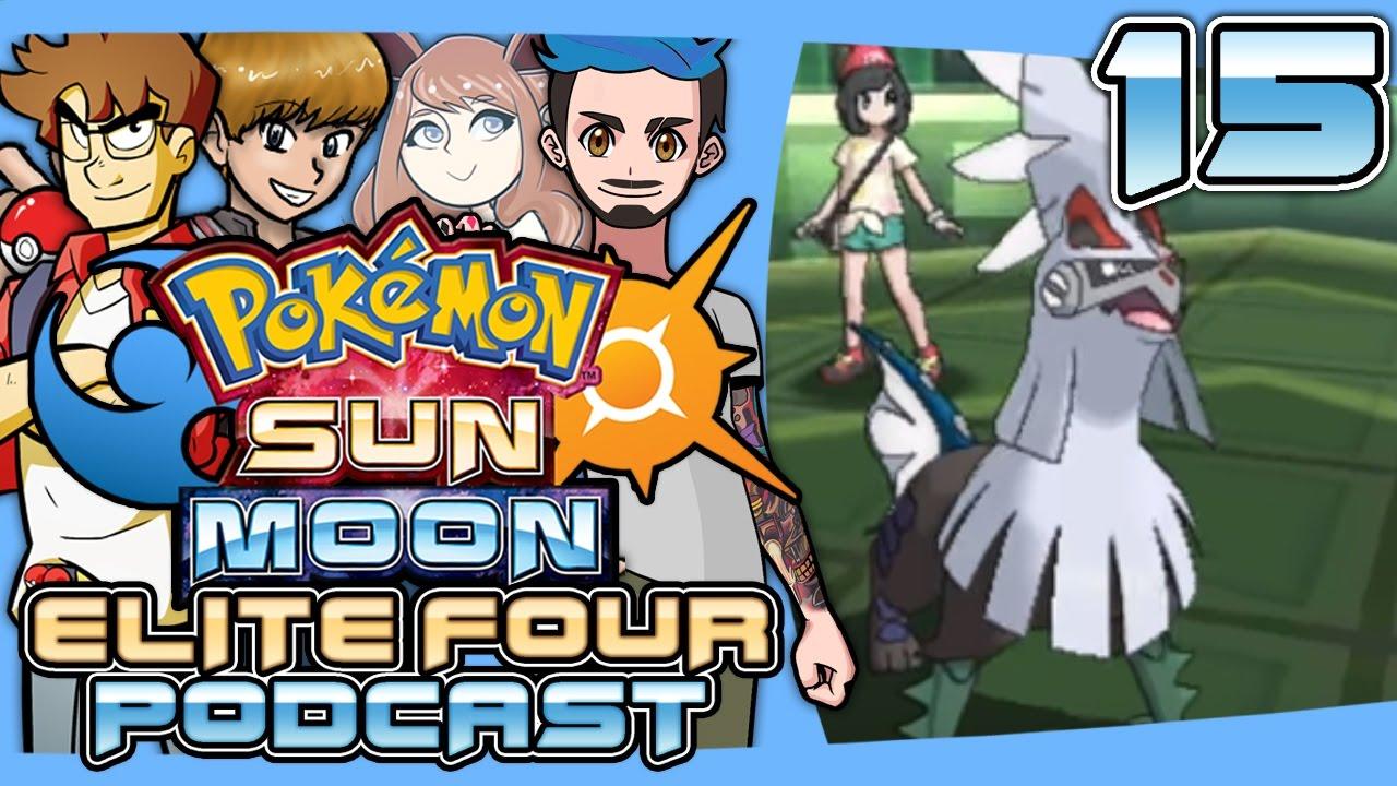 pokémon sun and moon elite four podcast 015 new alola forms