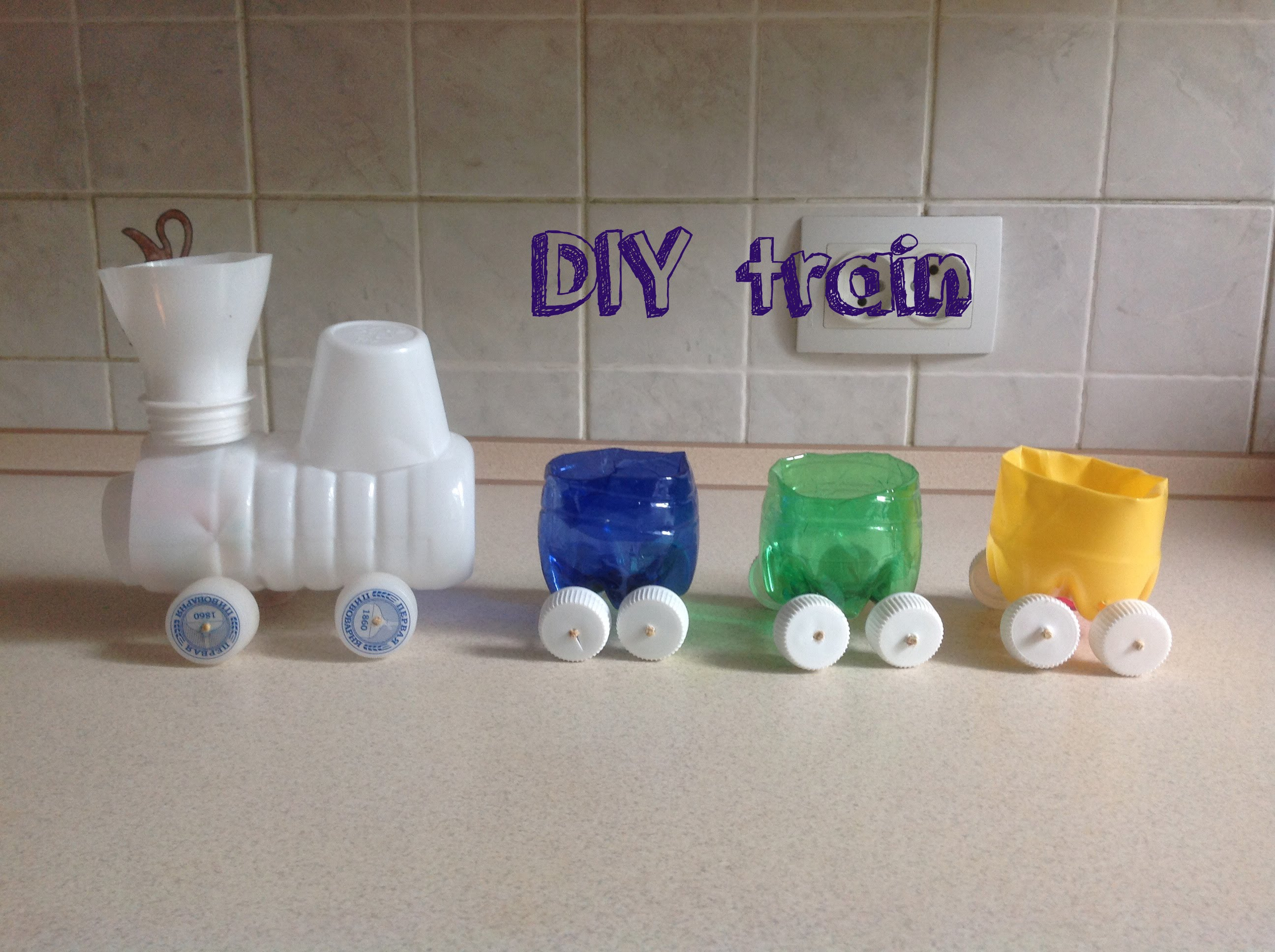Train Diy Plastic Bottles Crafts For Kids Downline4life Content