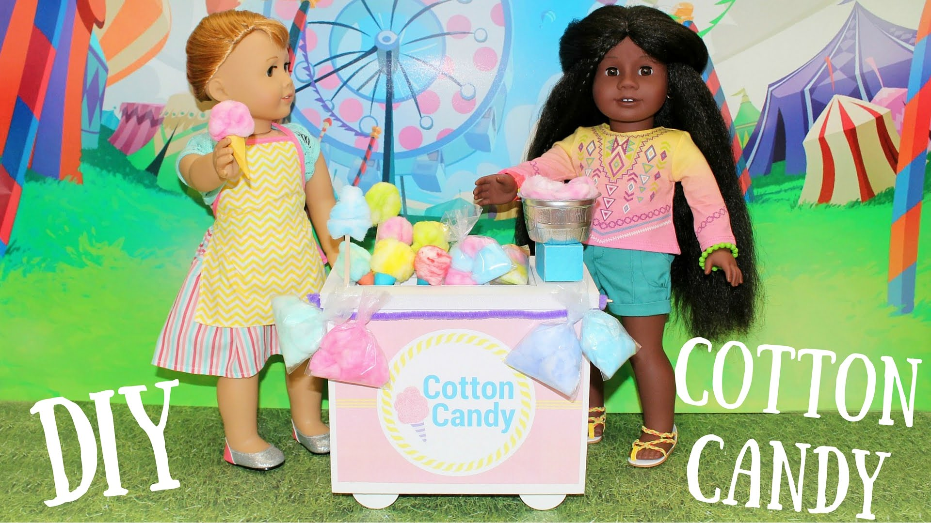 Doll Cotton Candy Diy American Girl Doll Crafts Onpassive Review